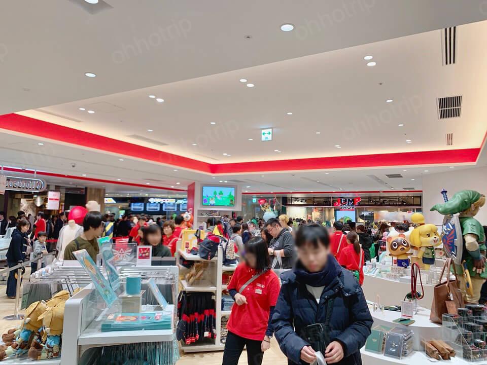 ดเต็มก่อนใคร NEW OPEN Nintendo Store Tokyo