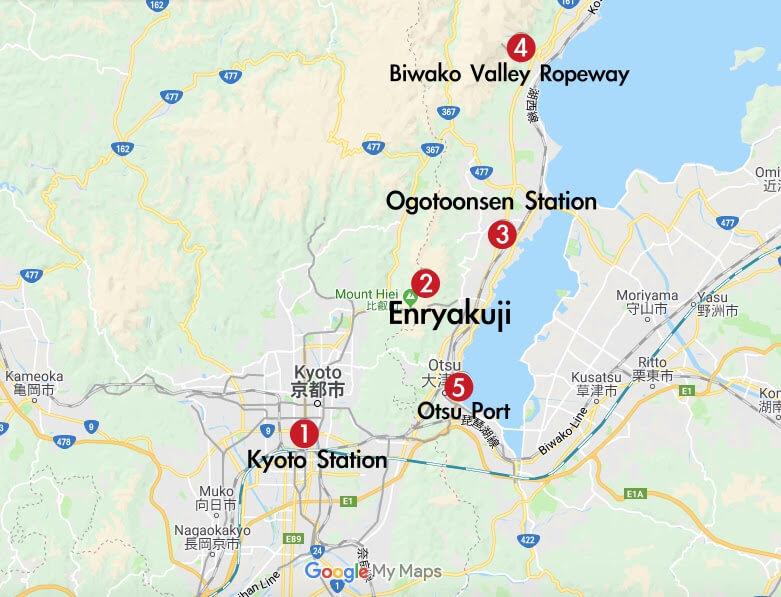 1 day trip เที่ยว Otsu ครบรส ด้วยรถไฟ JR ง่ายๆ ไม่ไกลจากเกียวโต