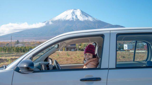 rental car in japan