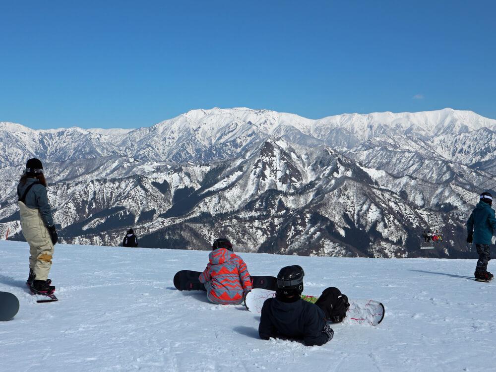 View from Gala Yuzawa