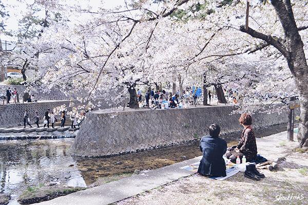 1 วันสบายๆ ในฤดูใบไม้ผลิที่ Shukugawa Park