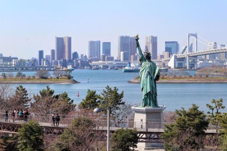 ญี่ปุ่น….คนเดียวก็เที่ยวได้ ตอนที่ 1 : โอไดบะ (Odaiba)