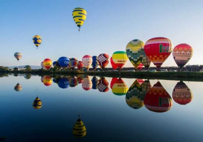บอลลูน ที่ซากะ Saga International Balloon Festival (ฉันรักเธอ)