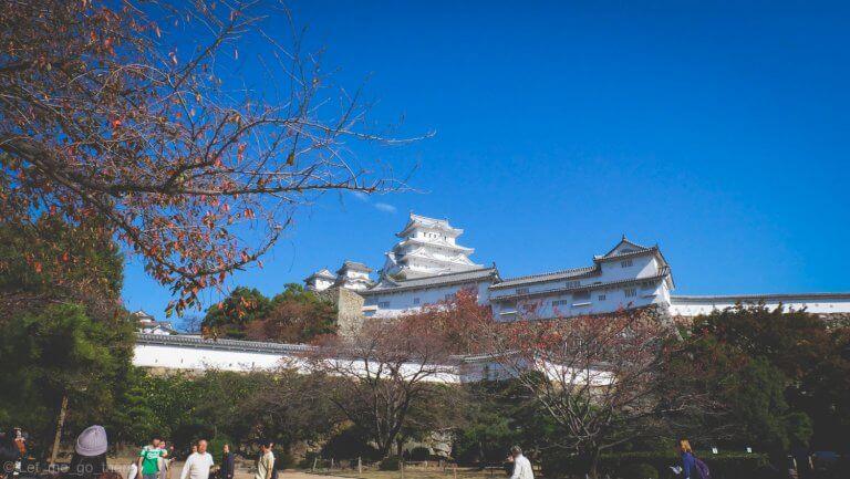 Sunny day in Kansai ตอนปราสาทนกกระสาขาวกับดาวตอนกลางวันริมโอซาก้าเบย์แวะเดินเซ ๆ ที่อาริมะ