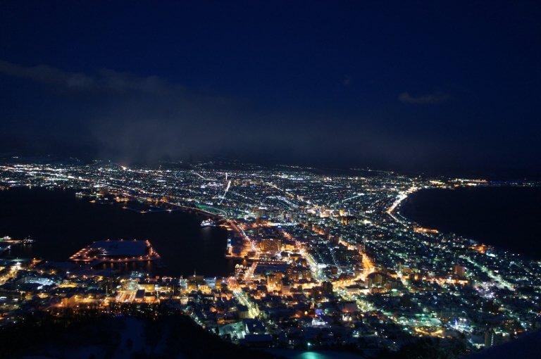 Night view 100 ล้าน ที่ Hakodate
