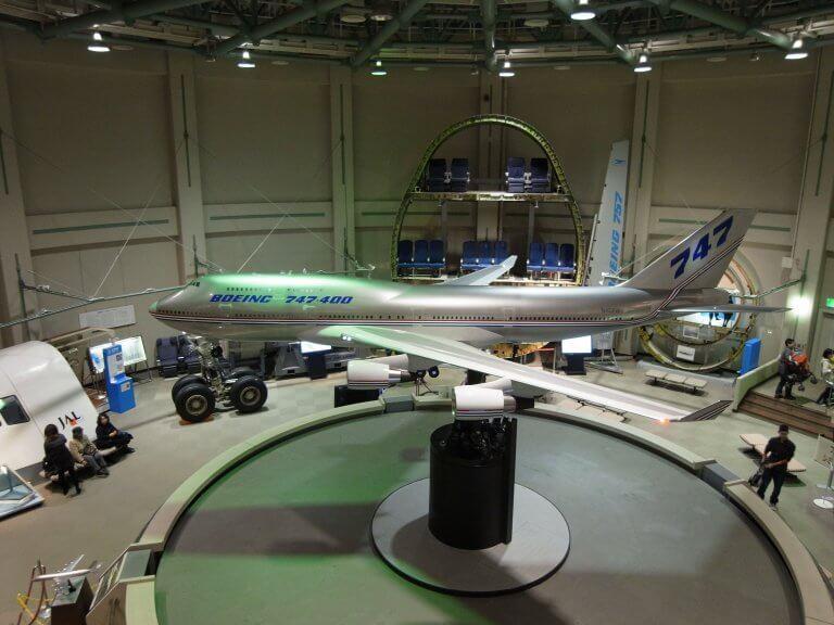 นักบินจำเป็นที่พิพิธภัณฑ์วิทยาศาสตร์การบิน นาริตะ (Musuem of Aeronautical Science)