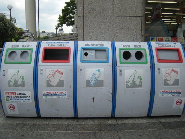การทิ้งขยะที่ถูกต้องในญี่ปุ่น