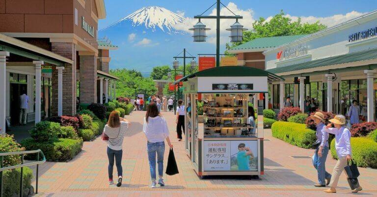 Shop กระจายที่ 5 Outlet parks ใหญ่ในญี่ปุ่น