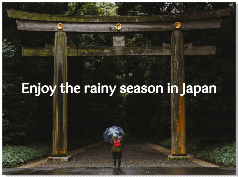 Japan Rainy Cover_use